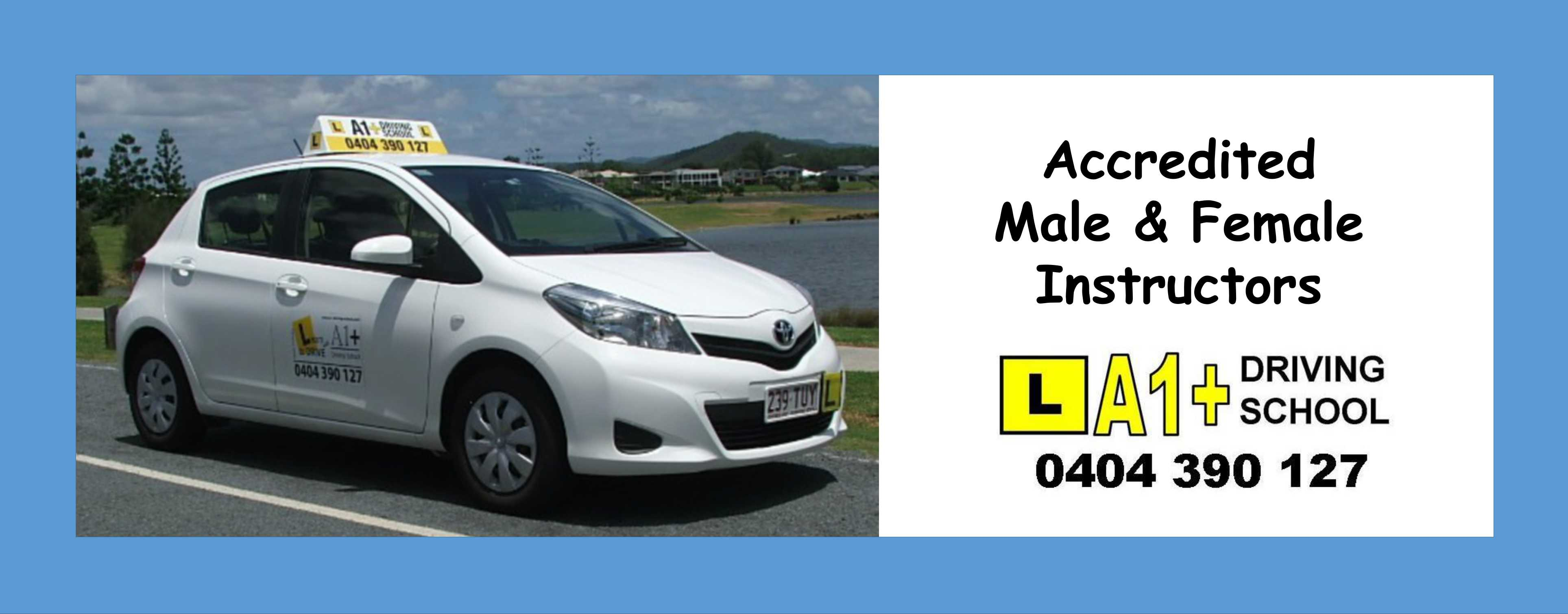 Pacific Pines Driving Instructor Gold Coast